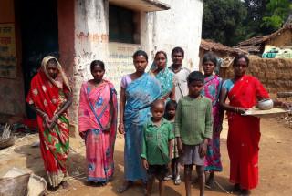 Tribal families in Mokro and Tetar Village in Gumla