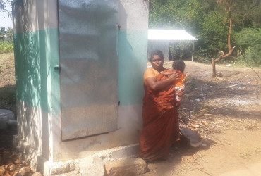 Loan to Chandra and group has paved way for a healthy sanitation