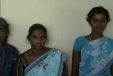 Mahalakshmi constructed a toilet at her house