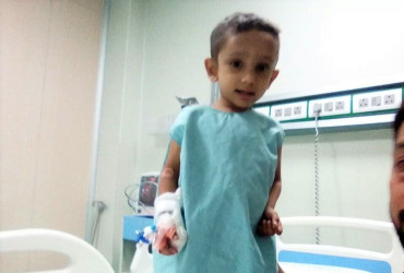This 3-year-old Who Itches Until He Bleeds Needs A Liver Transplant To Stay Alive