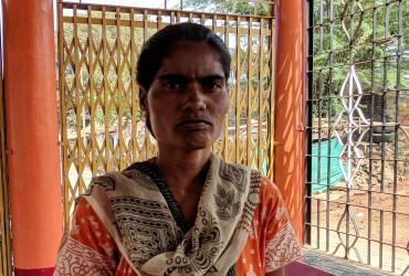 Geeta and her husband are saving to educate their kids