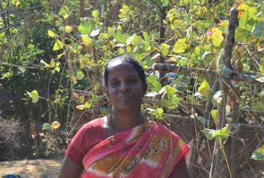 Goat-rearing helps her save more money