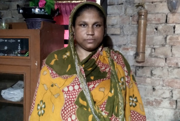 Your support helped Marjina to pay for her daughter's school fees