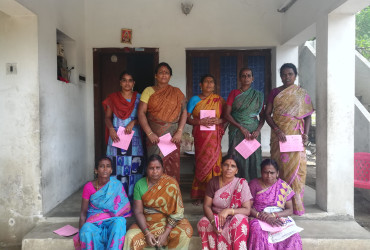 Akilandeswari and her group have found success with their group loan