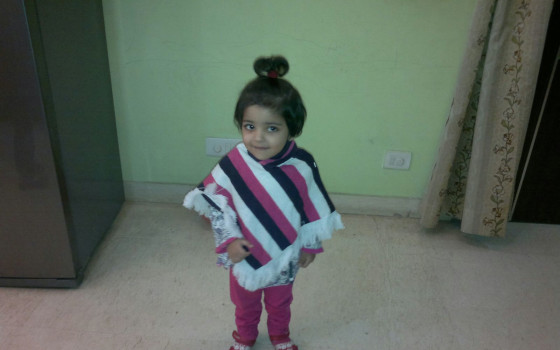Help 2-Year-Old Gauri With Profound Hearing Loss Hear Again