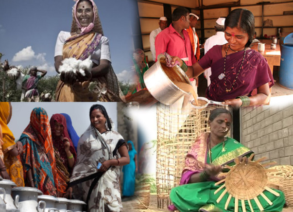 I am fundraising to help  self-employement of rural women and to start their own businesses