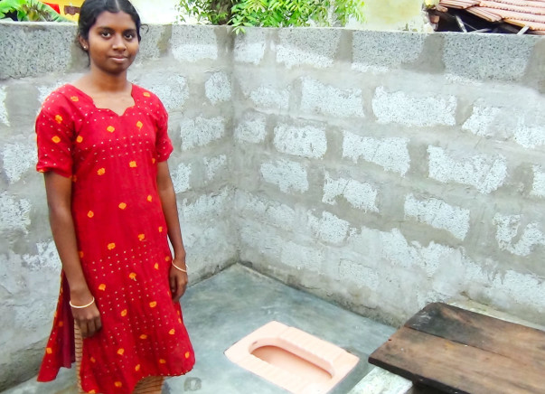 fundraising to help build toilets in rural India
