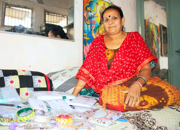 I am celebrating Diwali to  empower rural mothers to start their own businesses
