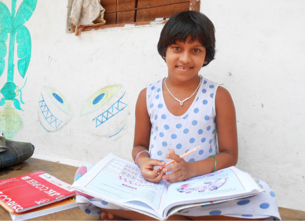 Help diligent students from low-income families receive an education