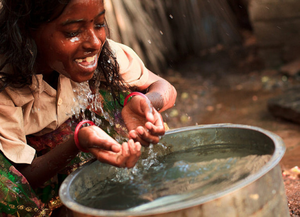 I am fundraising to bring clean water to rural India and the world.