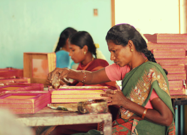 Support Padma and her group to increase the productivity of their enterprise and #MakeinIndia