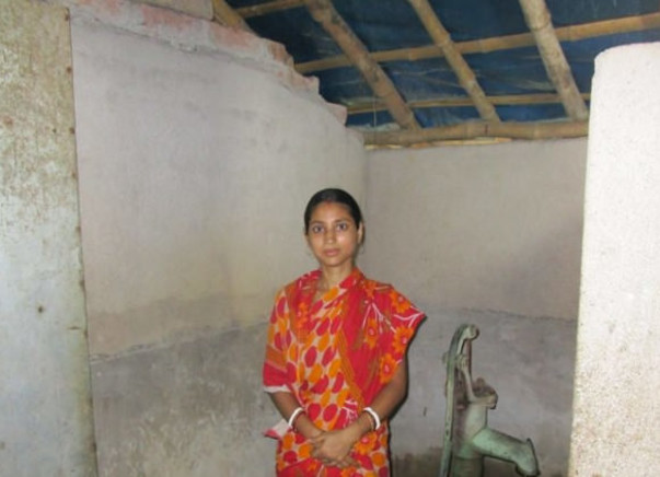 Help Champa Mondal fund urgent toilet and building repairs