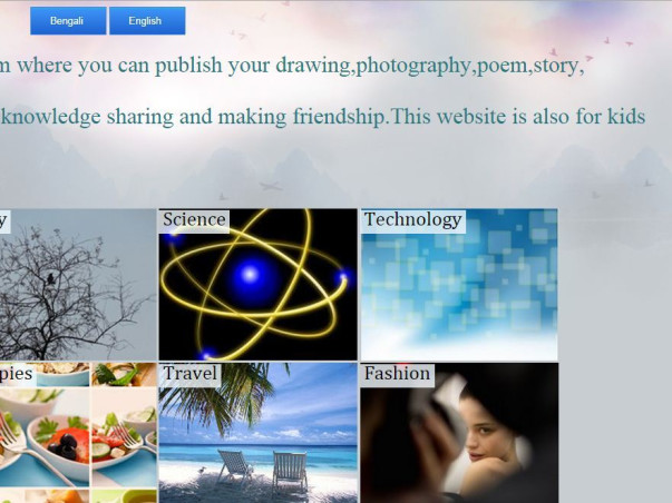 I am fundraising to improve www.abahan.com - A place for creative people