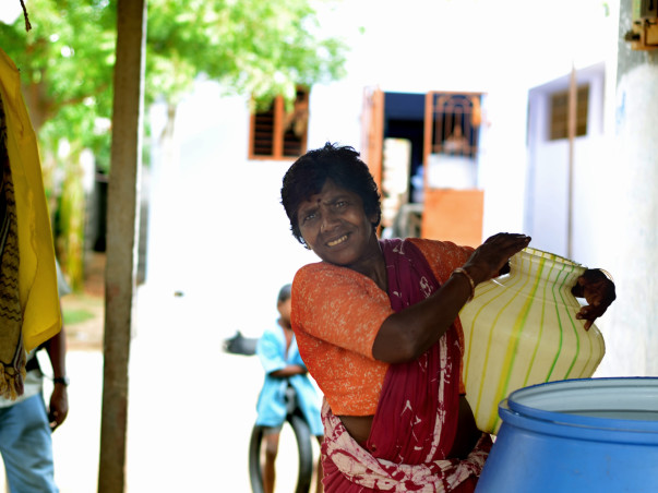 Water is not a 'want'. It is a 'need'. Help make a difference to the families of Tamil Nadu.