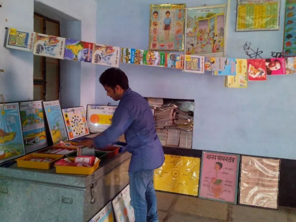 We are Fundraising to Establish two libraries in the villages of Sankhu and Khuddi  in Rajasthan.
