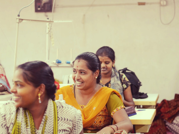 Support Selvi and her group to buy fabric for garment unit and encourage them to #MakeinIndia