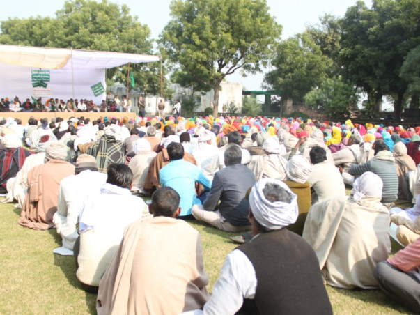 Funds to support Kisan Swaraj Sammelan April 2016 in Hyderabad