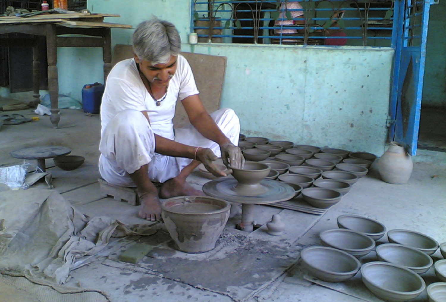 A glimpse of cottage industry