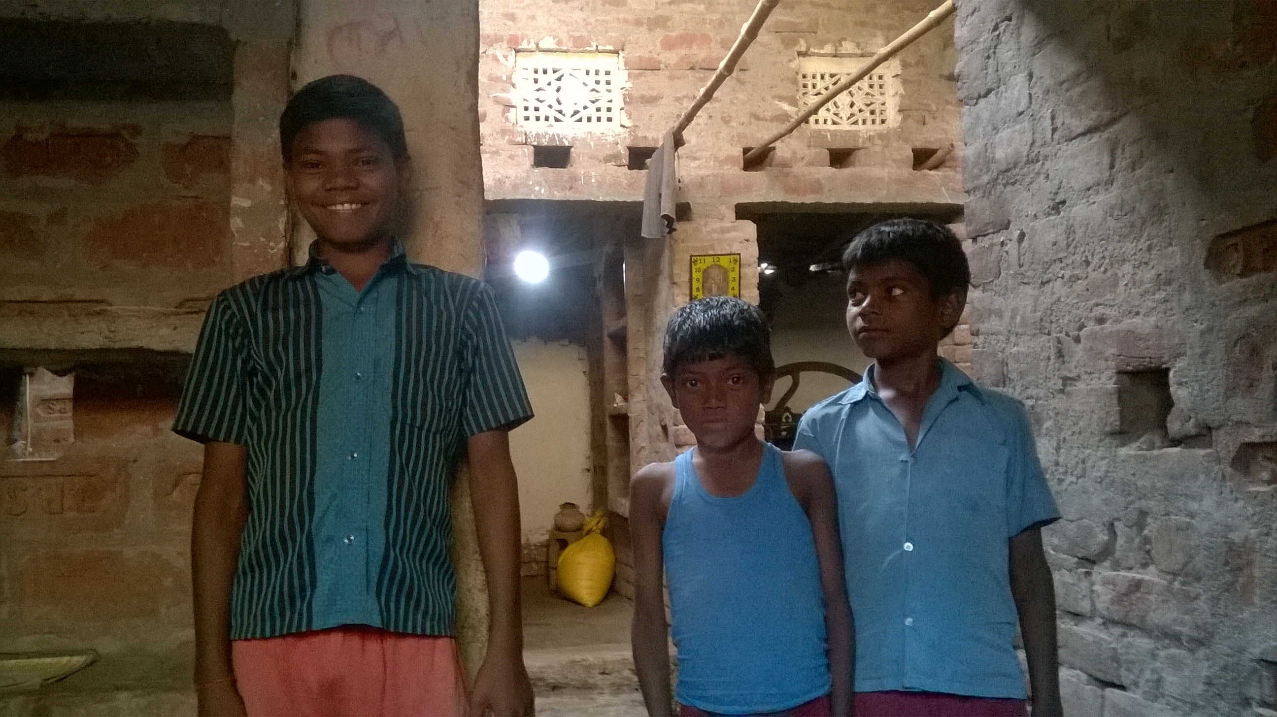 Roshan, Sunil & Akash (from left to right)