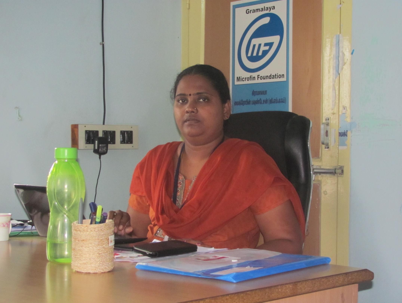 Geetha Jegan, CEO, Gramalaya Microfin Foundation