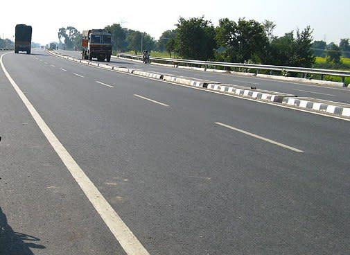 Different picture of roads in Bihar