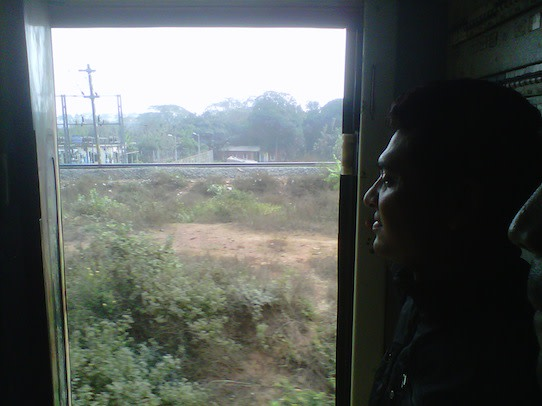 Travelling by train gives one the opportunity to see so much of the Indian countryside.