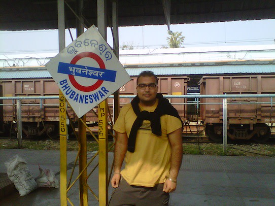 I enjoyed my stopover at Bhubaneswar Station.