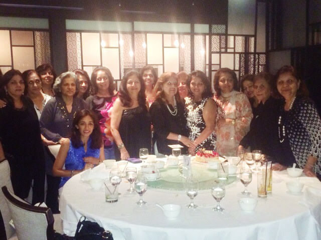 Dinner with the women of Venus, Singapore