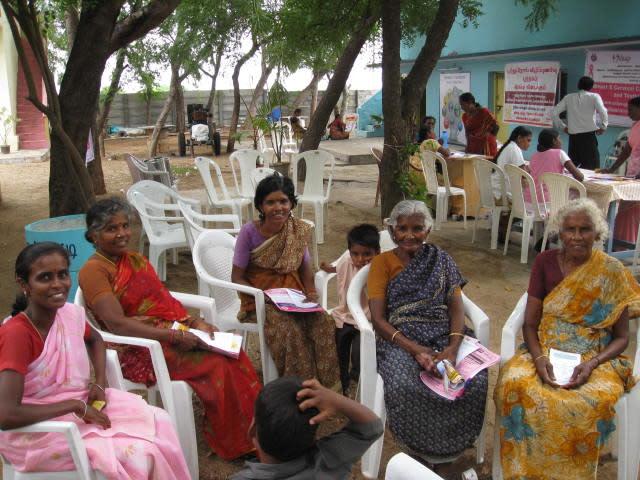 From left: Kaniga, Mookai, Pushpavalli, Rangamma and Kamalam