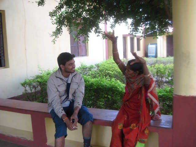 Interacting with Sukanti Maa