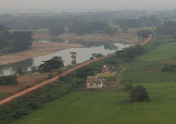 Daya river and the green fields around (The battle-ground of Kalinga)