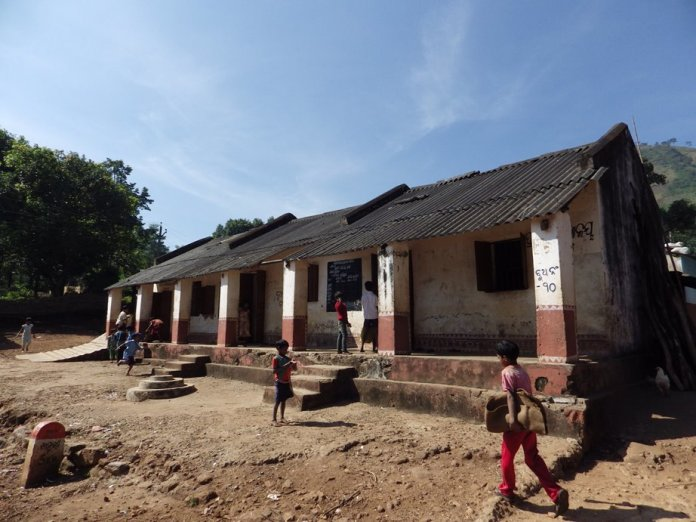 A school for the tribal children