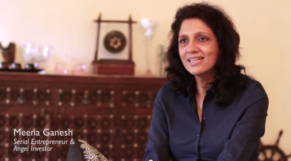 Meena Ganesh - The serial entrepreneur & angel investor who gives to charity by investing in social change
