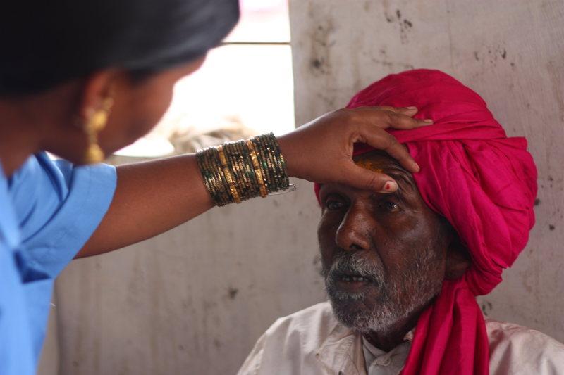 Folks around the village flocked to this medical entrepreneur Sakhi