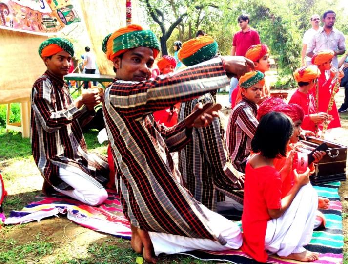 Folk artist from Rajasthan