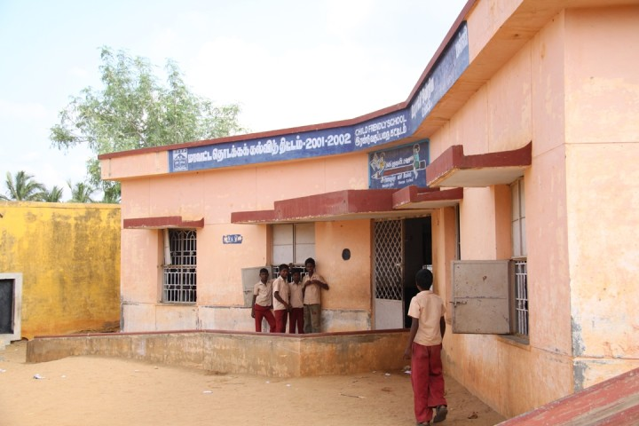 The school in Hosur, Tamil Nadu where we will build the toilets.