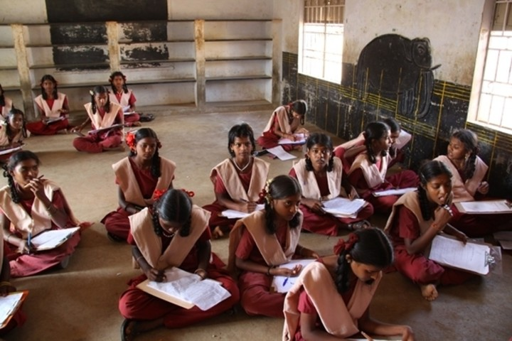 Girls studying in grade 6 to 10 are forced to remain absent from school for a week every month since they don't have access to proper toilets and water in school.