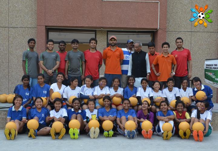Empowering Girls through Football