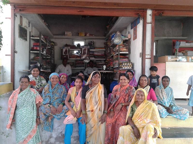 A self help group of former Devadasis