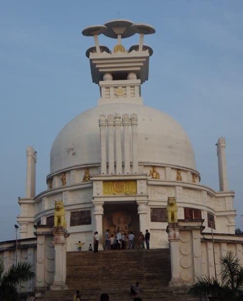 Japanese pagoda/ Vishwa Shanti Stupa