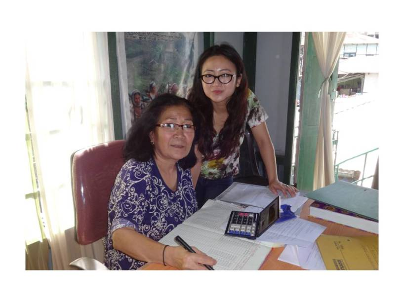 With Ms. Chong, the branch head of WSDS in Mizoram