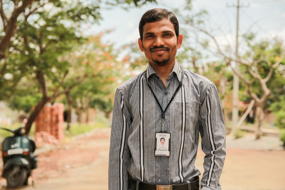 Mohammed Kaza Nayeemuddin - Realized His Dreams Through Vocational Training