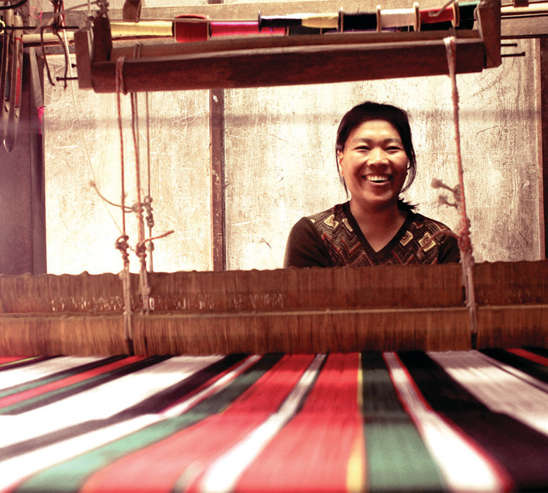 These women artisans proudly run their own businesses.