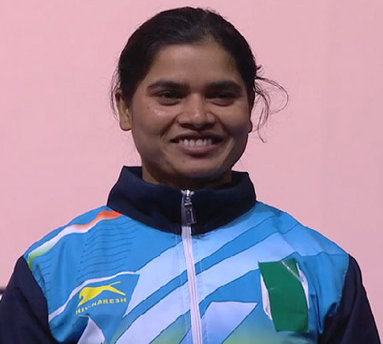 Sakina has her eyes set on winning the gold for India.