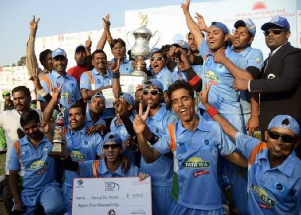 Support the Indian blind cricket team to participate in the T20 Blind Cricket Worldcup