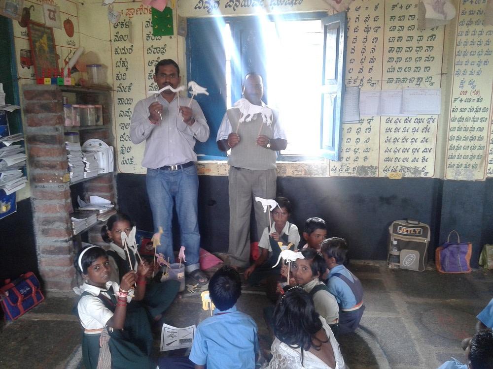 Government school in alagawadi
