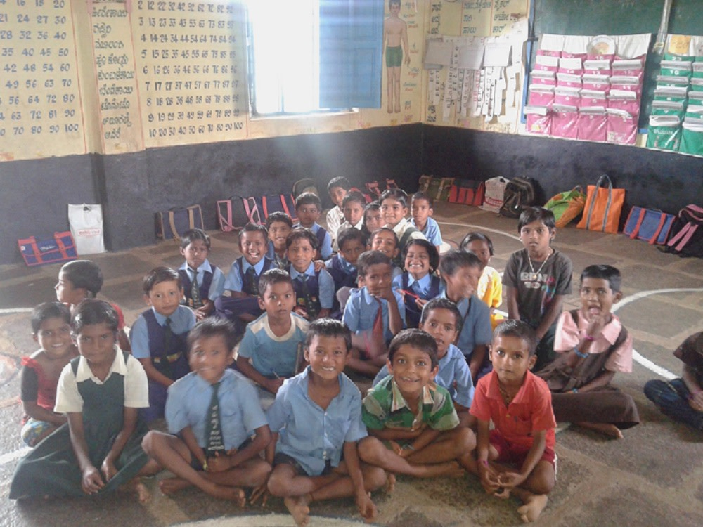 Children at a government school
