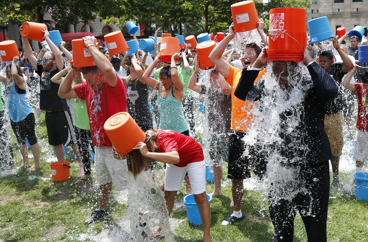 The Ice Bucket Challenge has attracted over 700,000 new donors and raised over $41m to date.