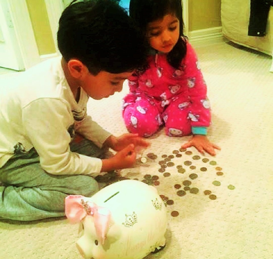 Azara & Cyrus Patel: 2nd generation givers. Gave their piggy bank money to their mom's fundraiser for trafficked women. You needn't be the heir to millions to be 'The Dynast'
