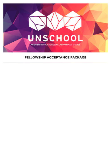 Brief of Unschool Acceptance Document